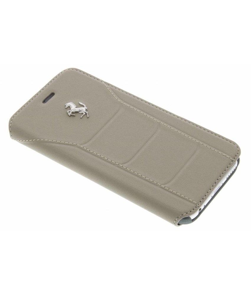 Ferrari Leather Booktype Case iPhone 6 / 6s - Taupe