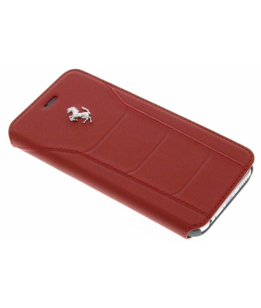 Ferrari Leather Booktype Case iPhone 6 / 6s - Rood