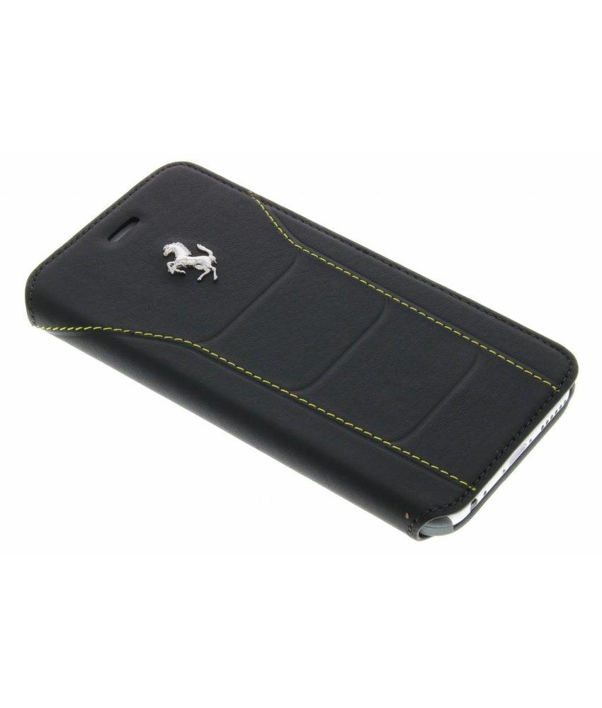 Ferrari Leather Booktype Case iPhone 6 / 6s - Zwart