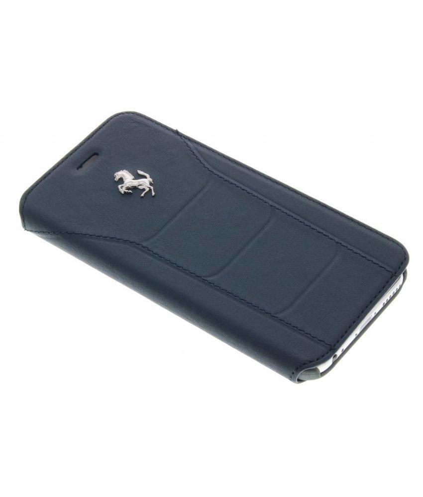 Ferrari Leather Booktype Case iPhone 6 / 6s - Donkerblauw