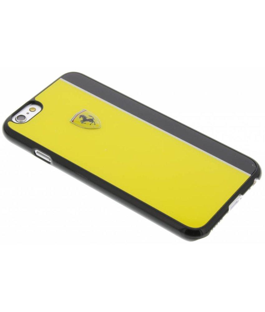 Ferrari Paddock Hard Case iPhone 6 / 6s - Geel & Zwart
