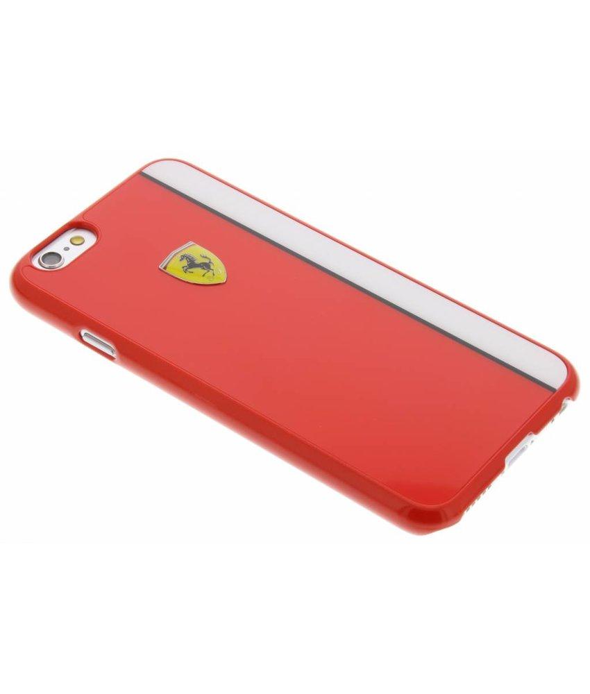 Ferrari Paddock Hard Case iPhone 6 / 6s - Rood & Wit