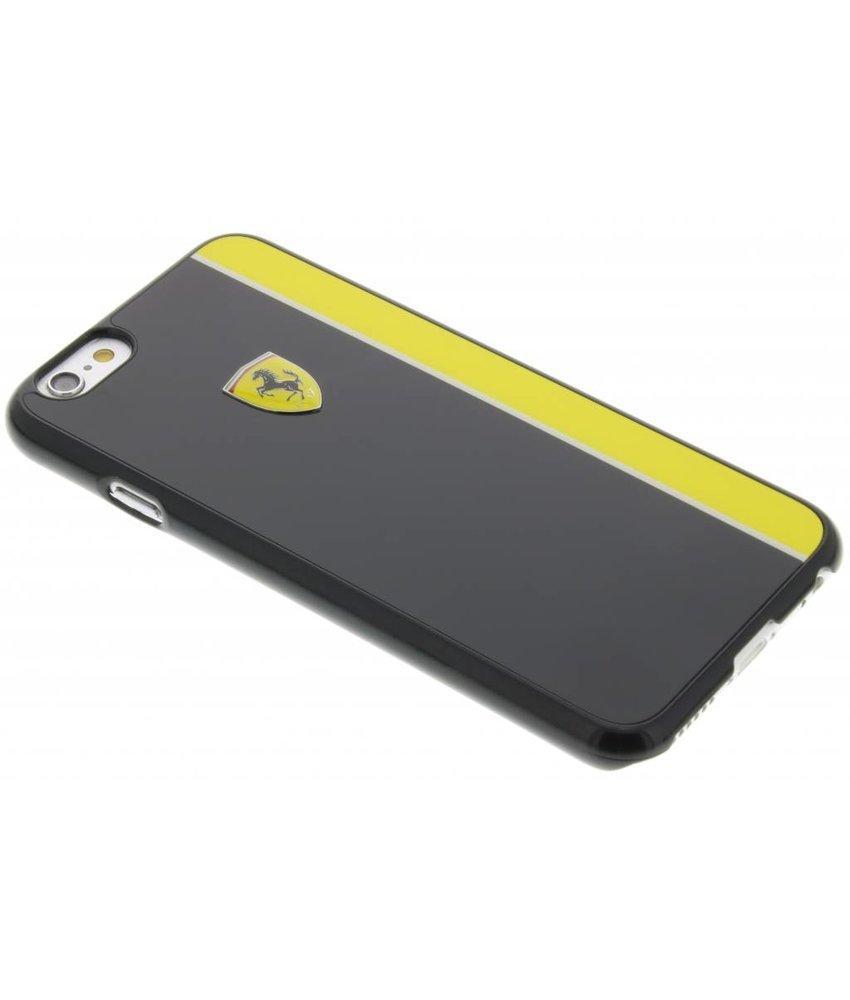 Ferrari Paddock Hard Case iPhone 6 / 6s - Zwart & Geel