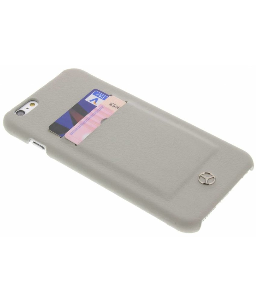 Mercedes-Benz Leather Hard Case iPhone 6(s) Plus - Taupe