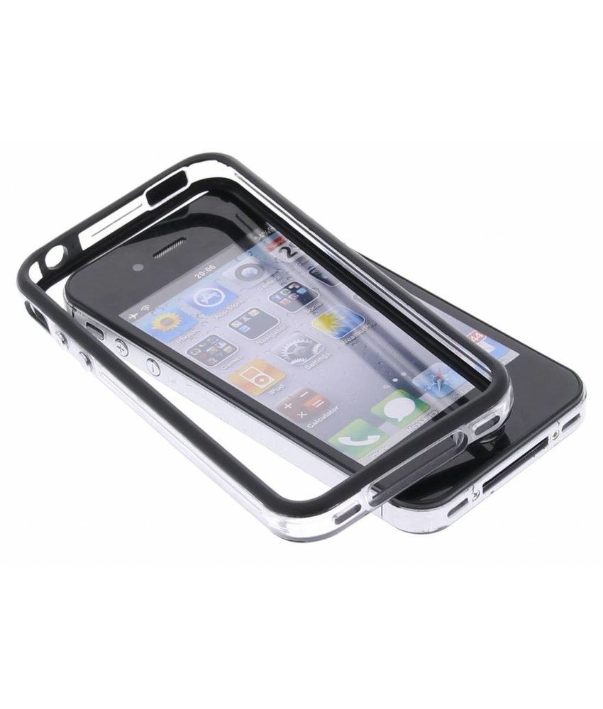 Zwarte bumper iPhone 4 / 4S