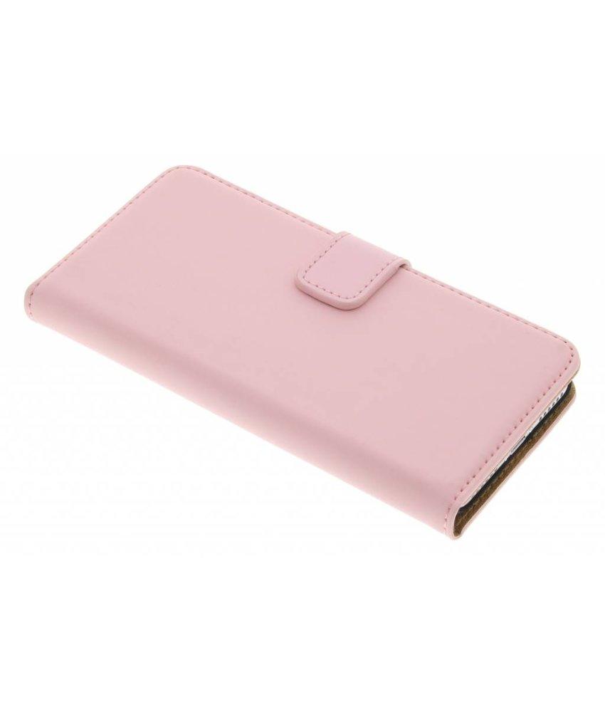 Selencia Luxe Book Case iPhone 8 / 7 - Poederroze