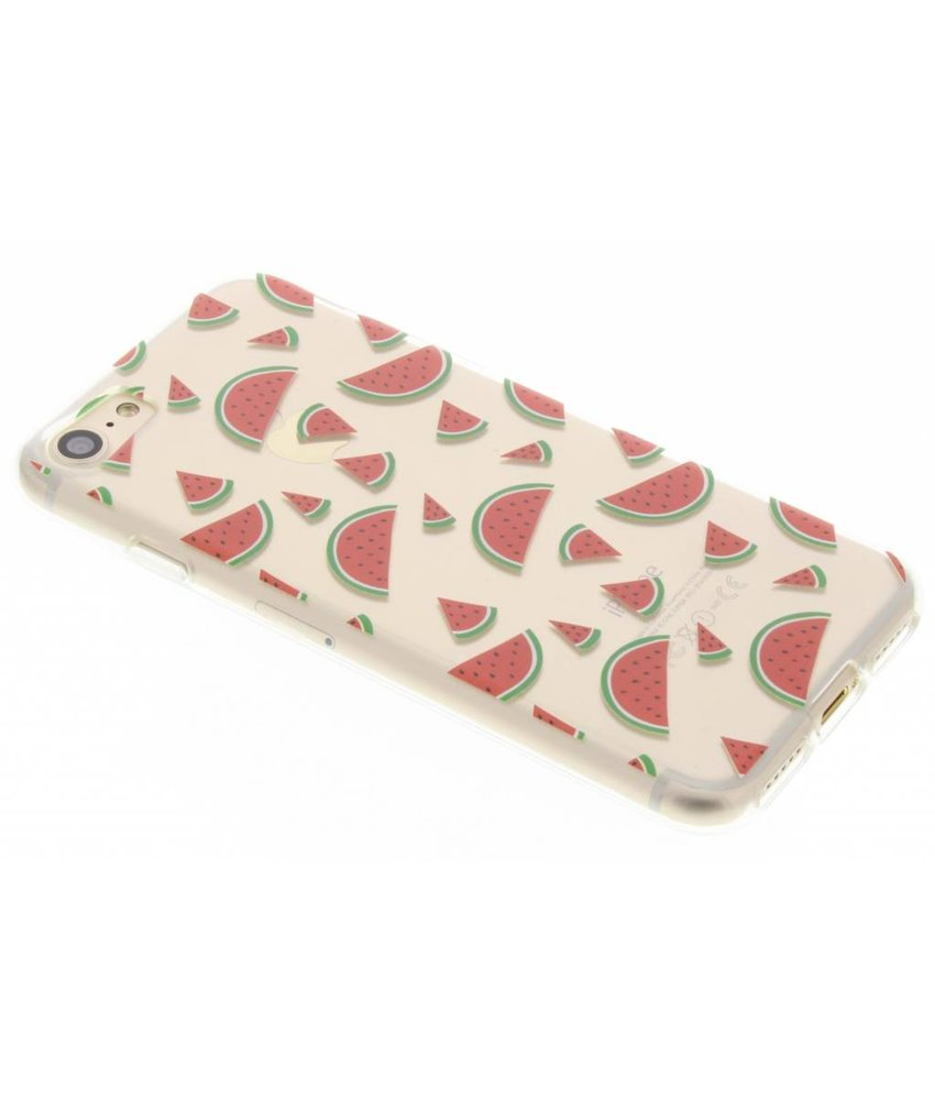 Transparant fruit design TPU hoesje iPhone 7