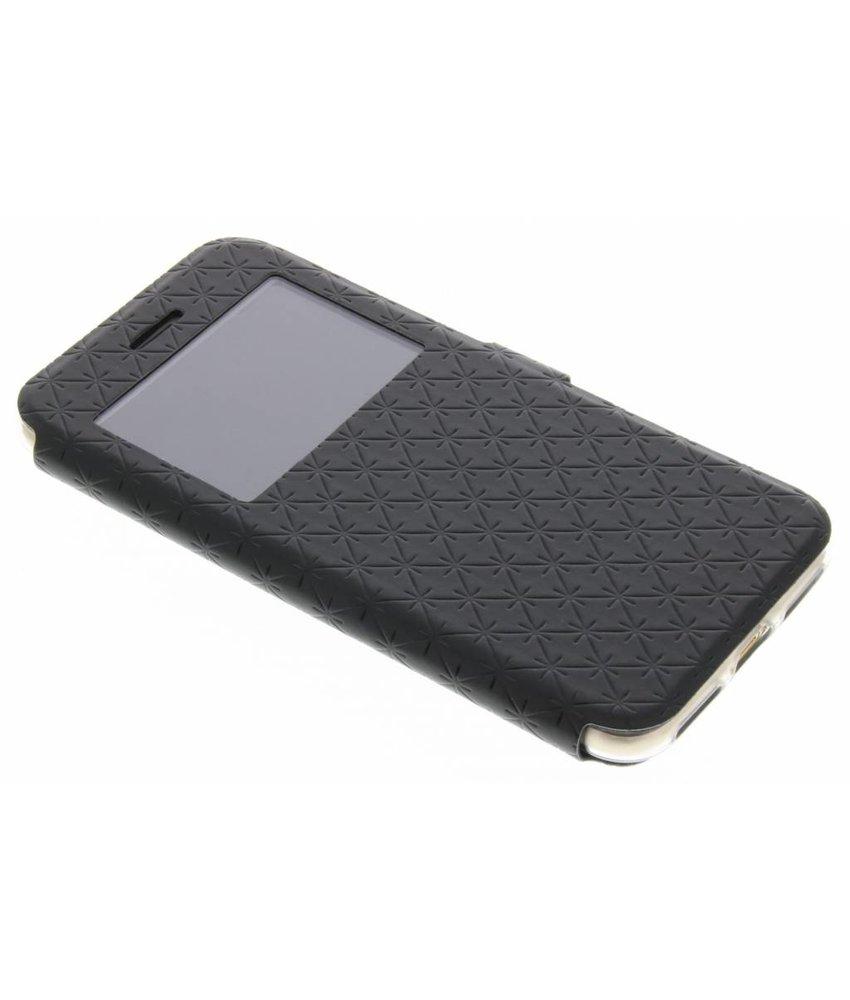 Zwart Rhombus hoesje iPhone 7