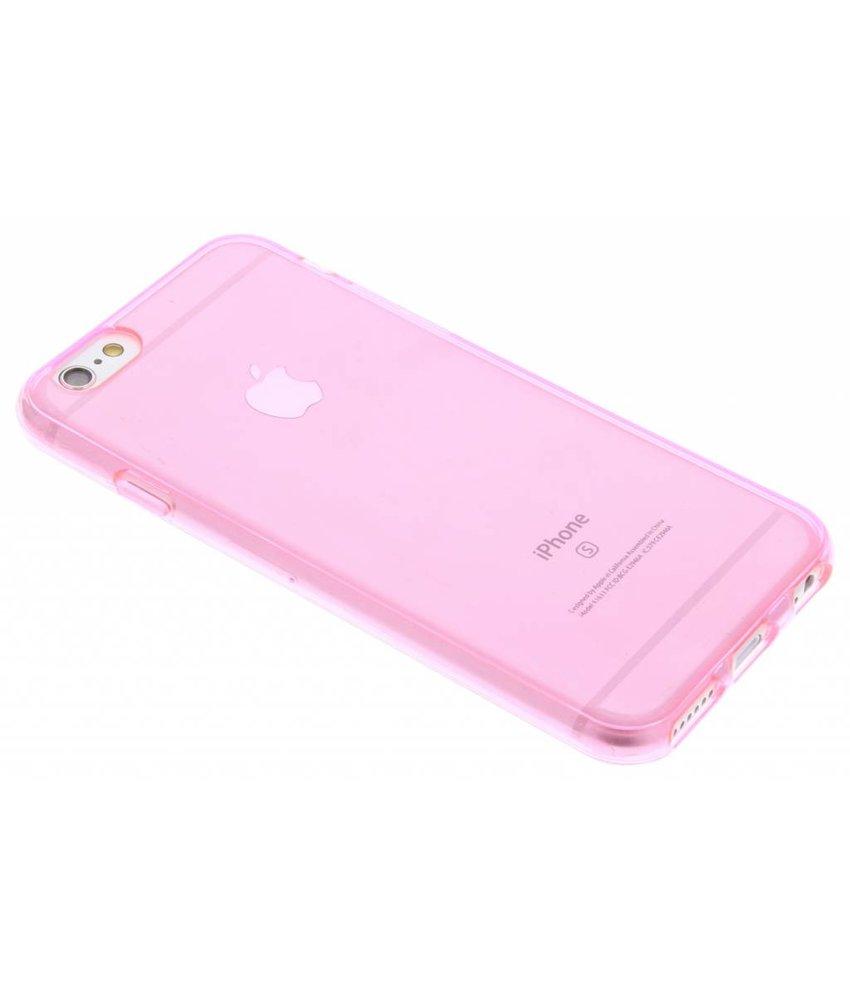 Roze gel case iPhone 6 / 6s