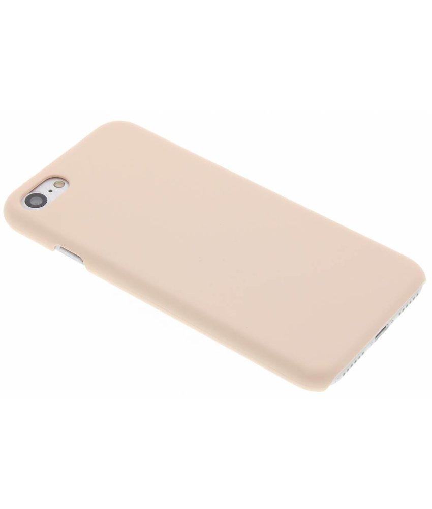 Poederroze pastel hardcase hoesje iPhone 7