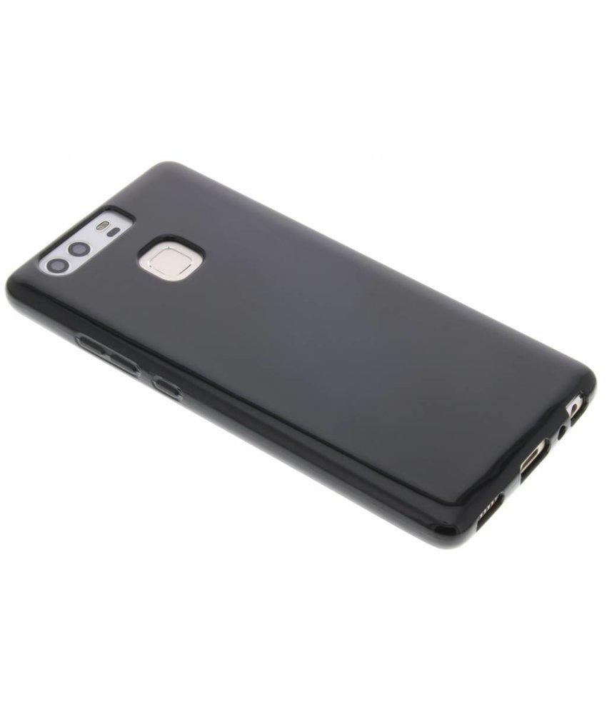 Zwart gel case Huawei P9