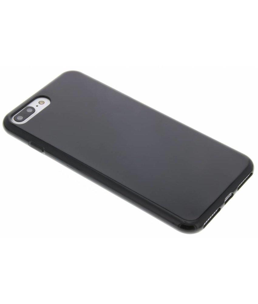 Zwart gel case iPhone 8 Plus / 7 Plus
