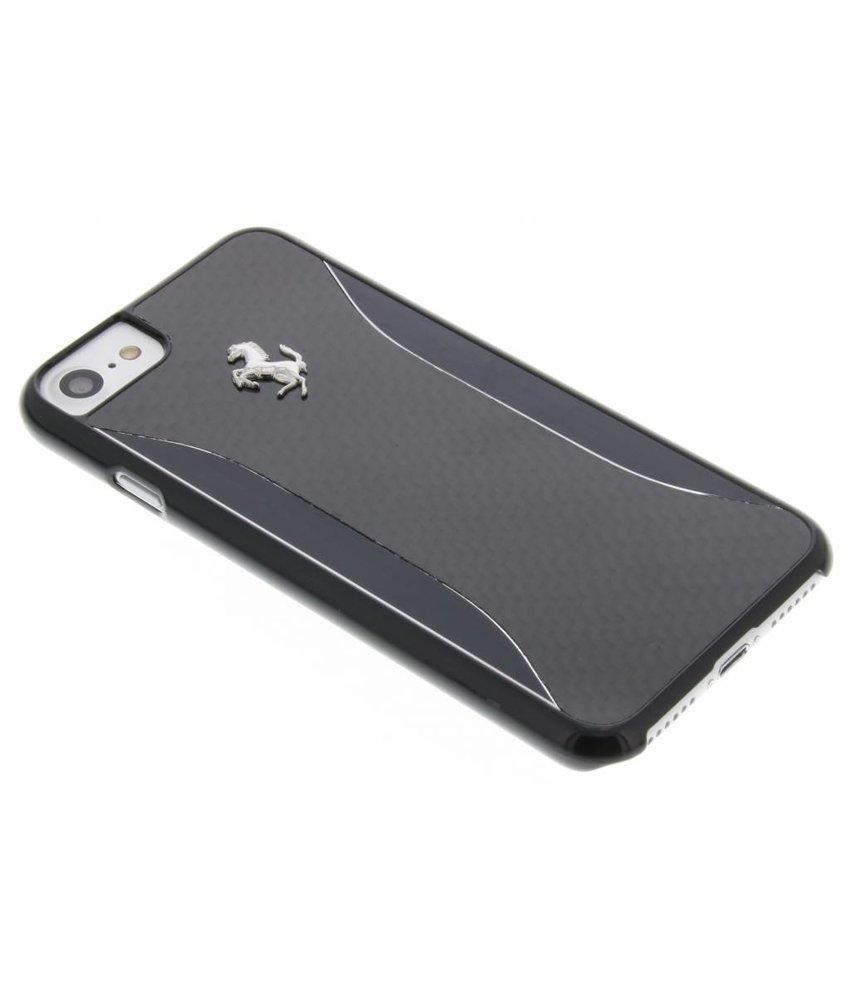 Ferrari Carbon Fiber Hard Case iPhone 7 - Zwart