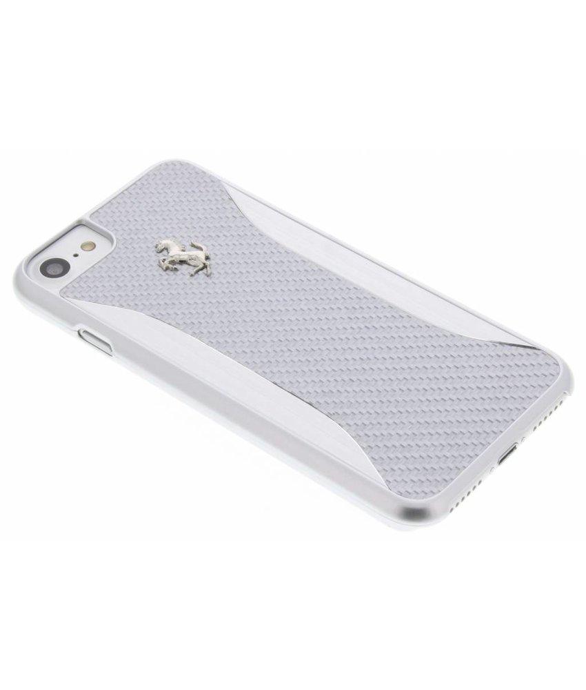 Ferrari Carbon Fiber Hard Case iPhone 8 / 7 - Zilver