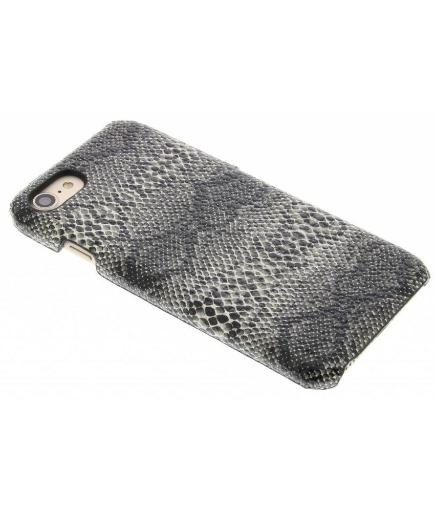 Zwart slangen design hardcase hoesje iPhone 8 / 7