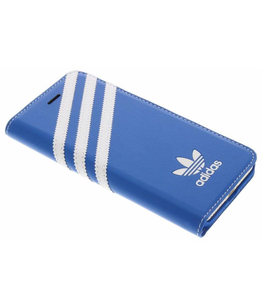 adidas Originals Booklet Case iPhone 7 - Blauw / Wit
