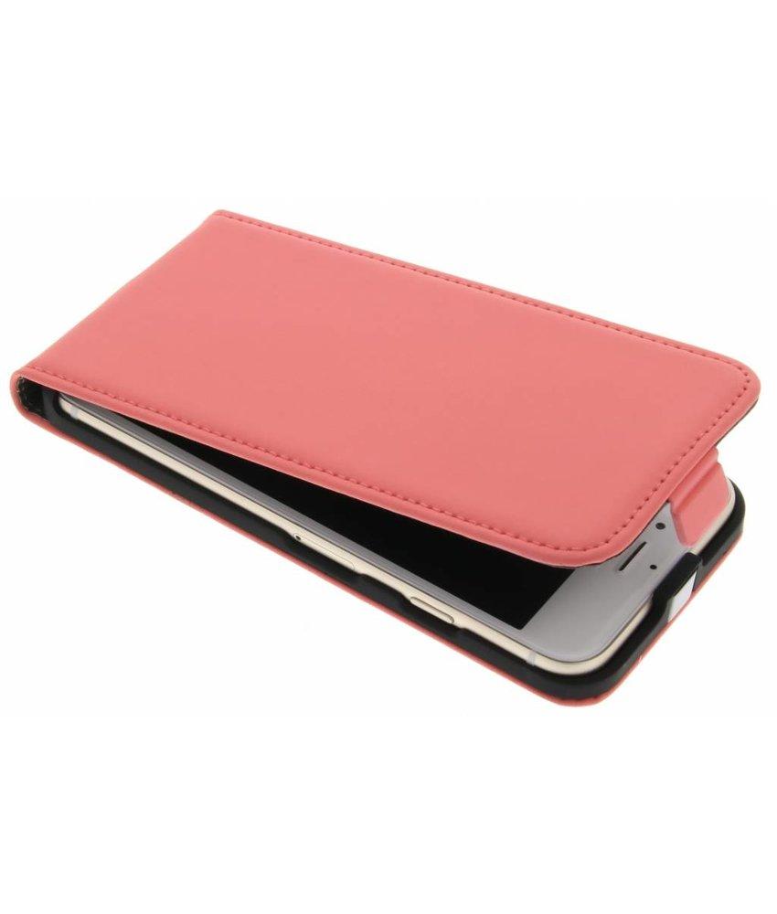 Mobiparts Premium Flipcase iPhone 7 - Peach Pink