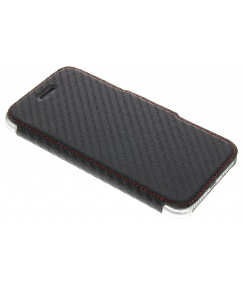 X-Doria Engage Folio Booklet Carbon iPhone 7 - Zwart