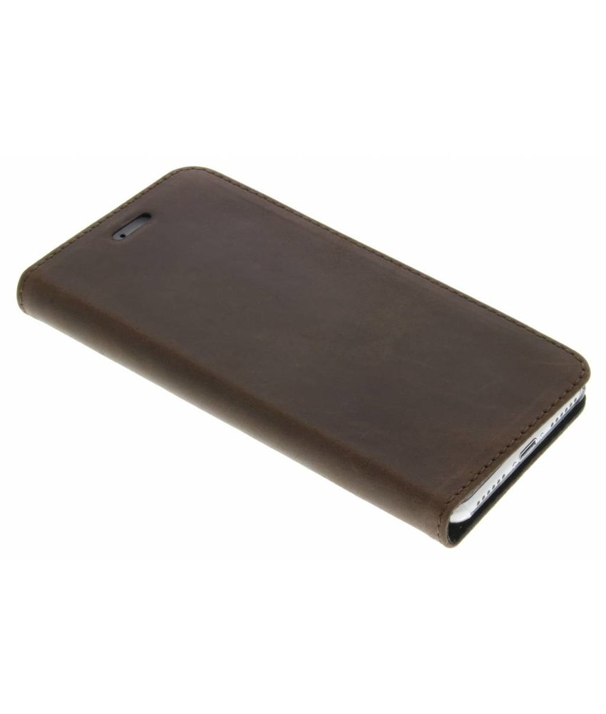 Valenta Booklet Classic Style iPhone 7 - Vintage Bruin