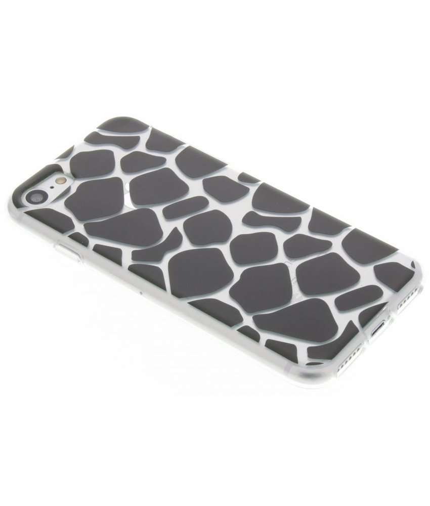 Dierenprint design Giraffe TPU hoesje iPhone 7