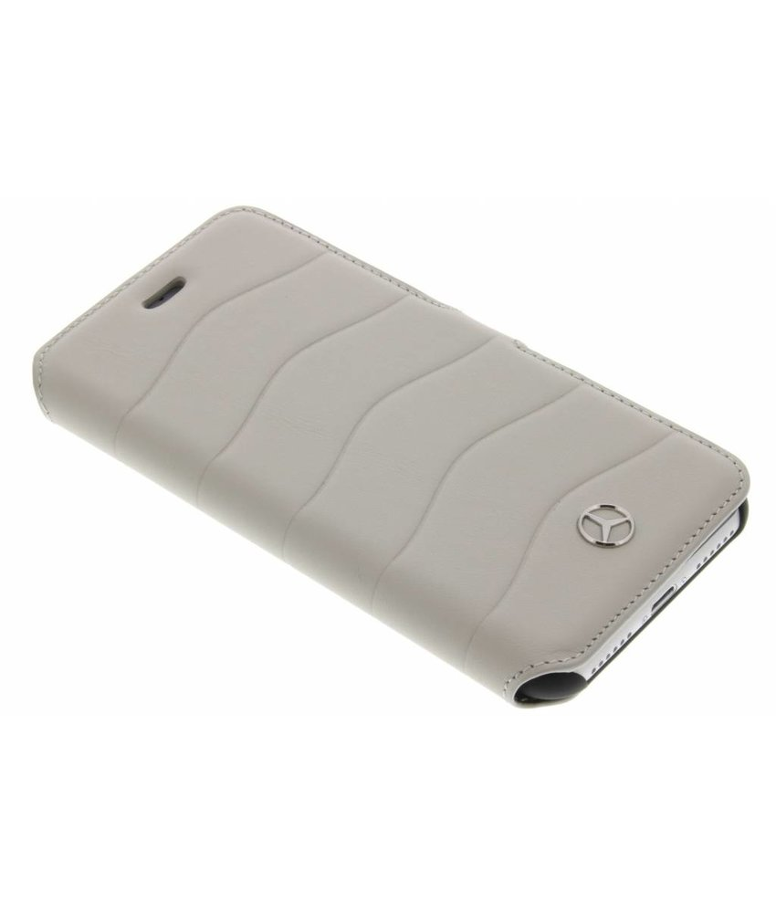 Mercedes-Benz Wave Booktype Case iPhone 7 - Crystal Grey