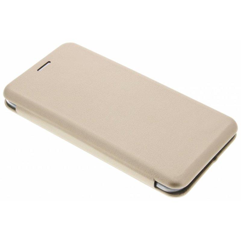 Goud Slim Foliocase iPhone 7