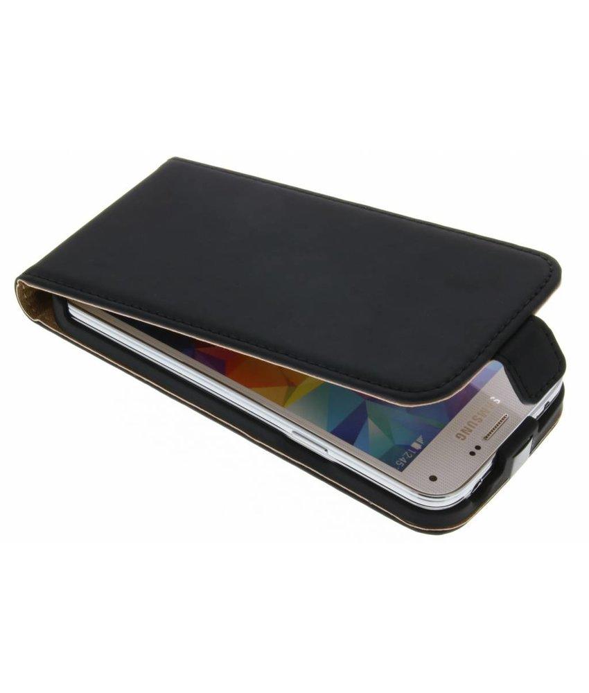 Selencia Luxe Flipcase Samsung Galaxy S5 Mini - Zwart