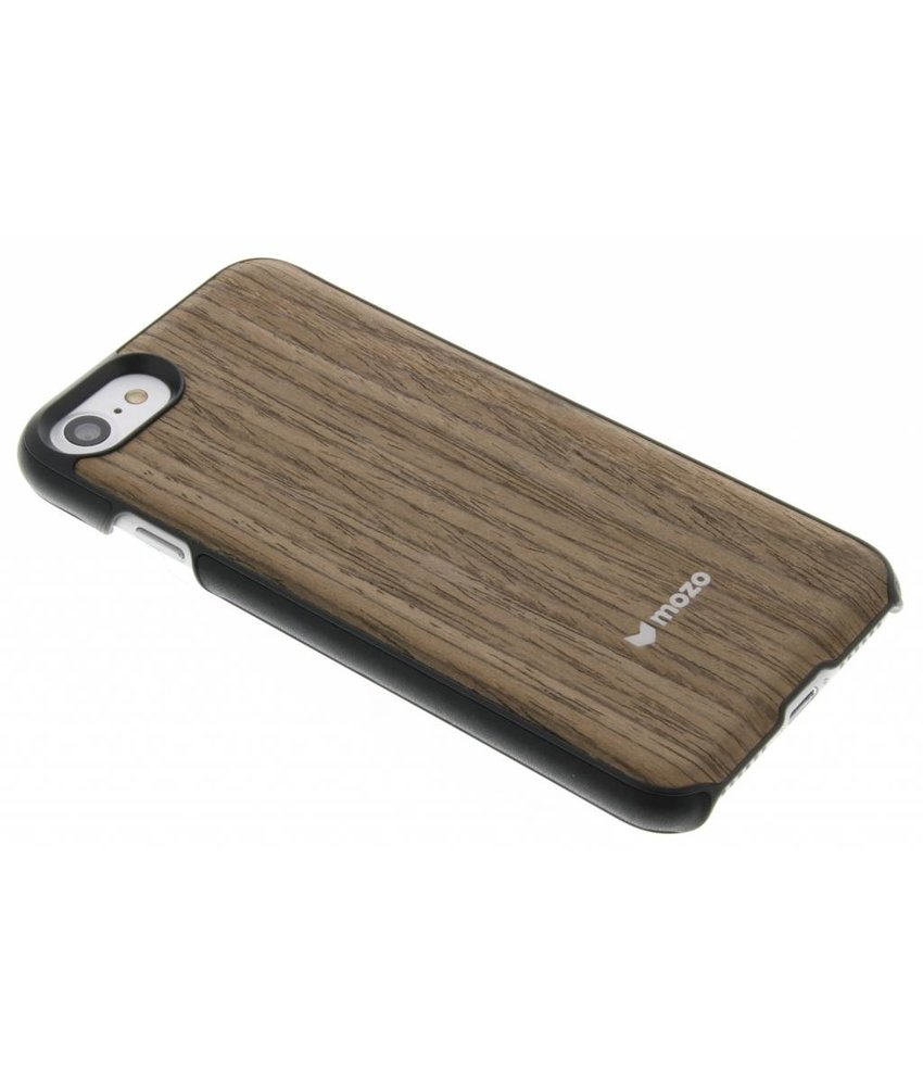 Mozo Wood Back Cover iPhone 7 - Black Walnut