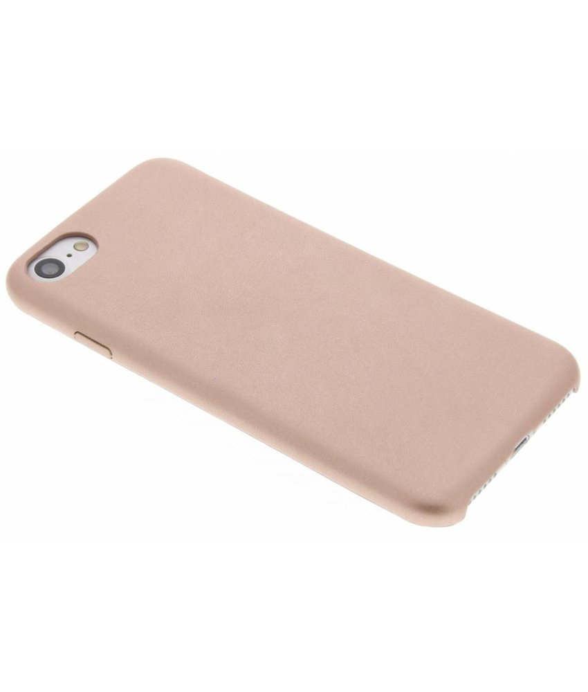 Roze effen TPU case iPhone 8 / 7
