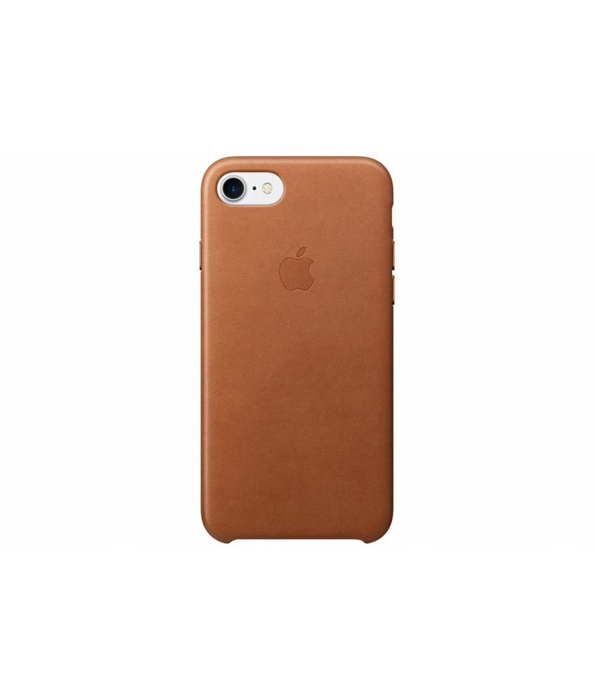 Apple Leather Case iPhone 7 - Saddle Brown