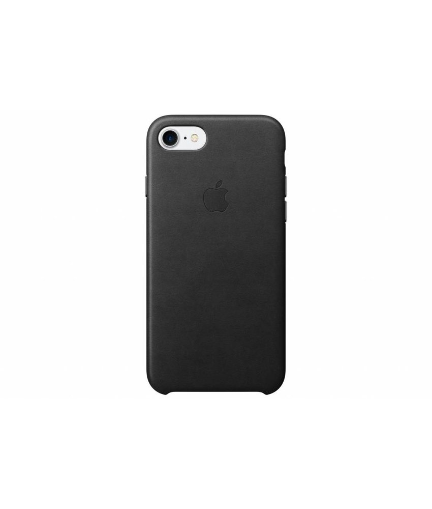 Apple Leather Case iPhone 7 - Black