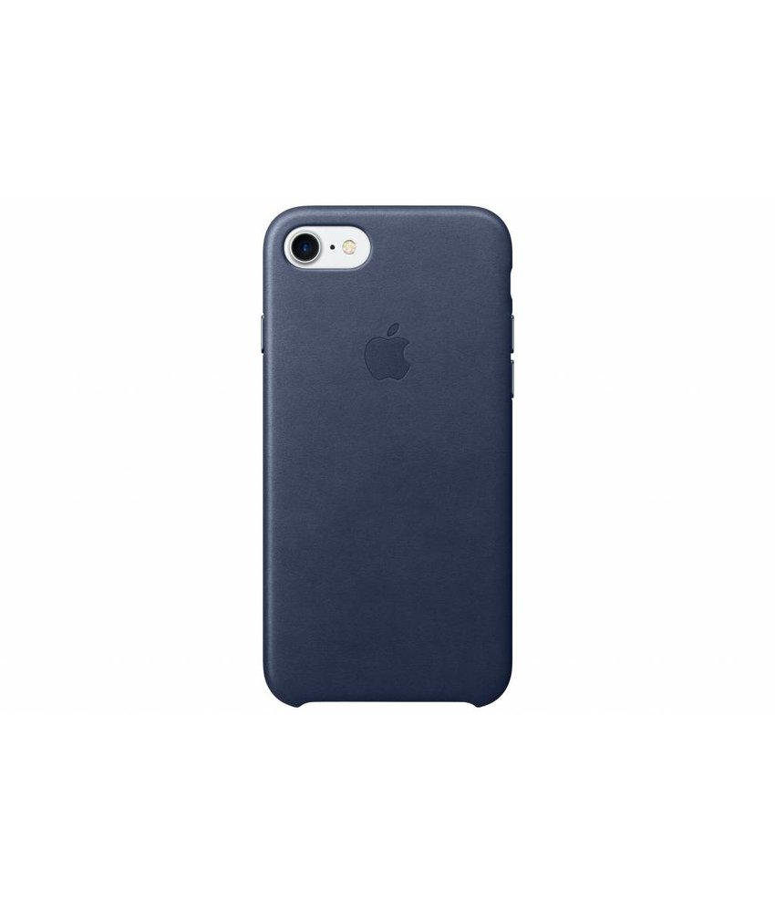 Apple Leather Case iPhone 7 - Midnight Blue
