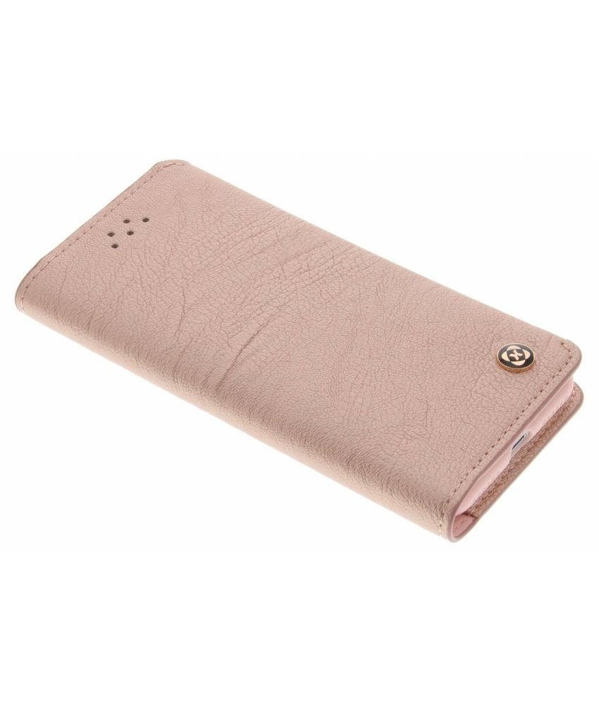 Roze wallet TPU booktype hoes iPhone 7