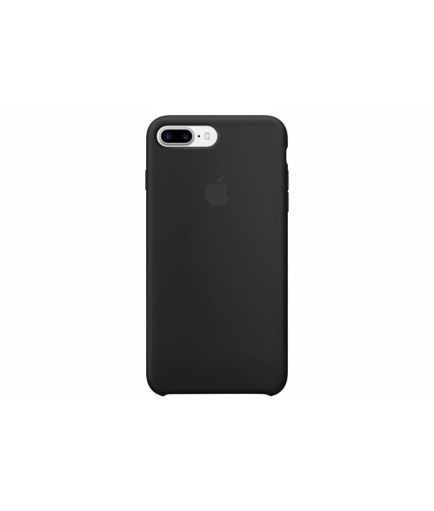 Apple Silicone Case iPhone 8 Plus / 7 Plus - Zwart