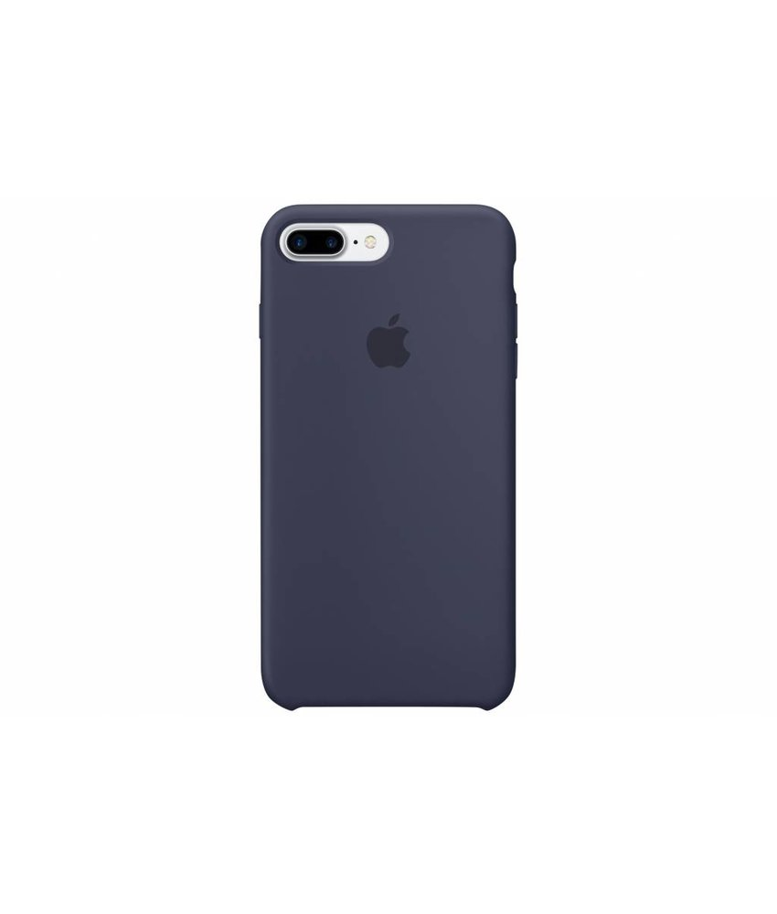 Apple Silicone Case iPhone 7 Plus - Blauw