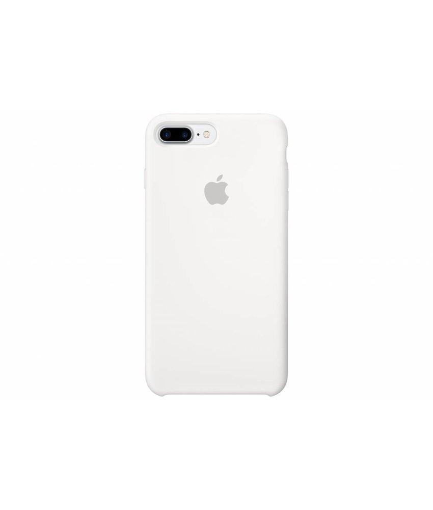 Apple Silicone Case iPhone 8 Plus / 7 Plus - Wit
