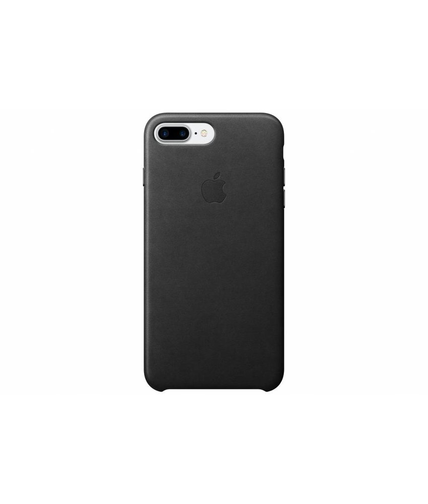Apple Leather Case iPhone 7 Plus - Black