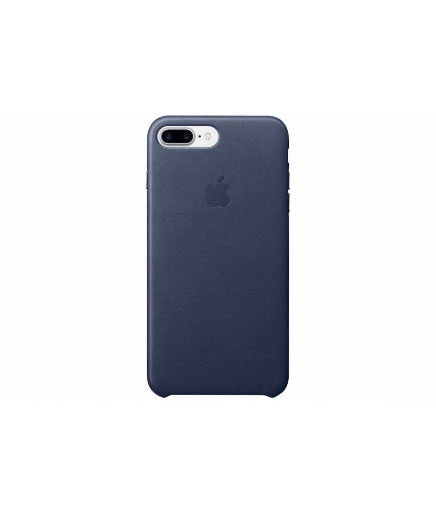 Apple Leather Case iPhone 7 Plus - Midnight Blue