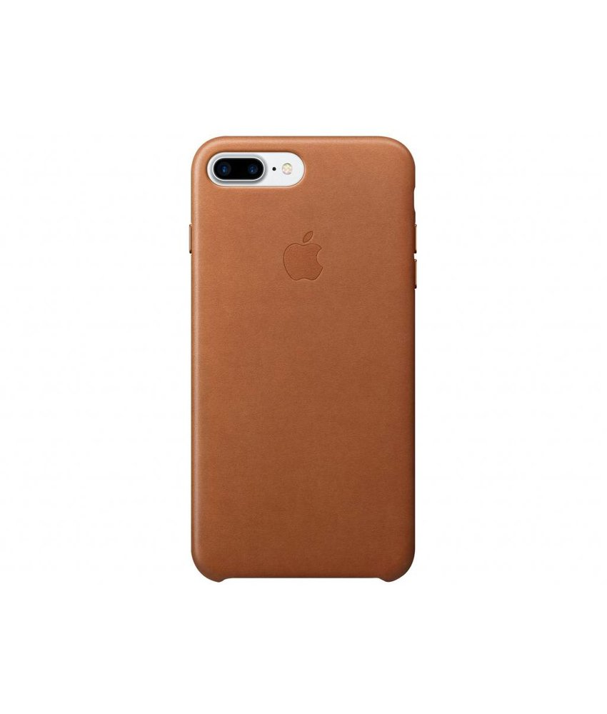 Apple Leather Case iPhone 7 Plus - Brown