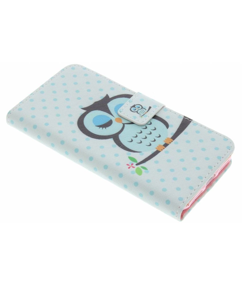 Design TPU booktype hoes iPhone 7