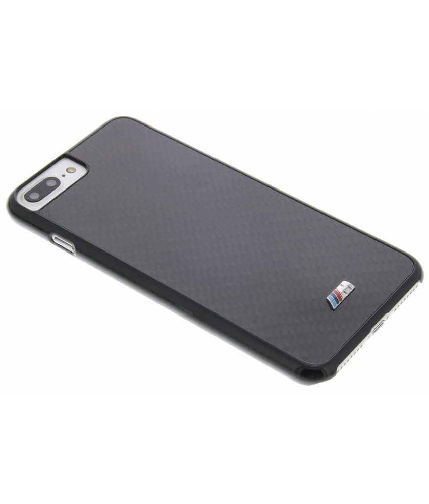 BMW M Carbon Effect Hard Case iPhone 7 Plus - Zwart