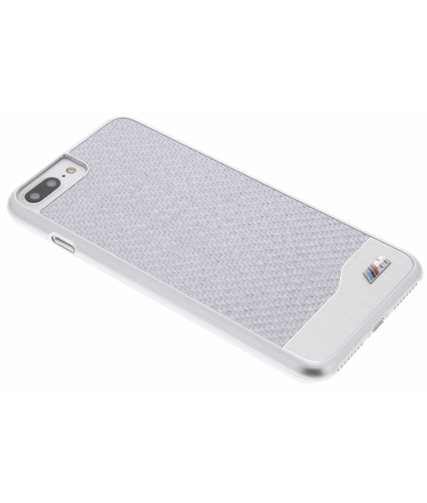 BMW M Carbon Effect Hard Case iPhone 7 Plus - Zilver