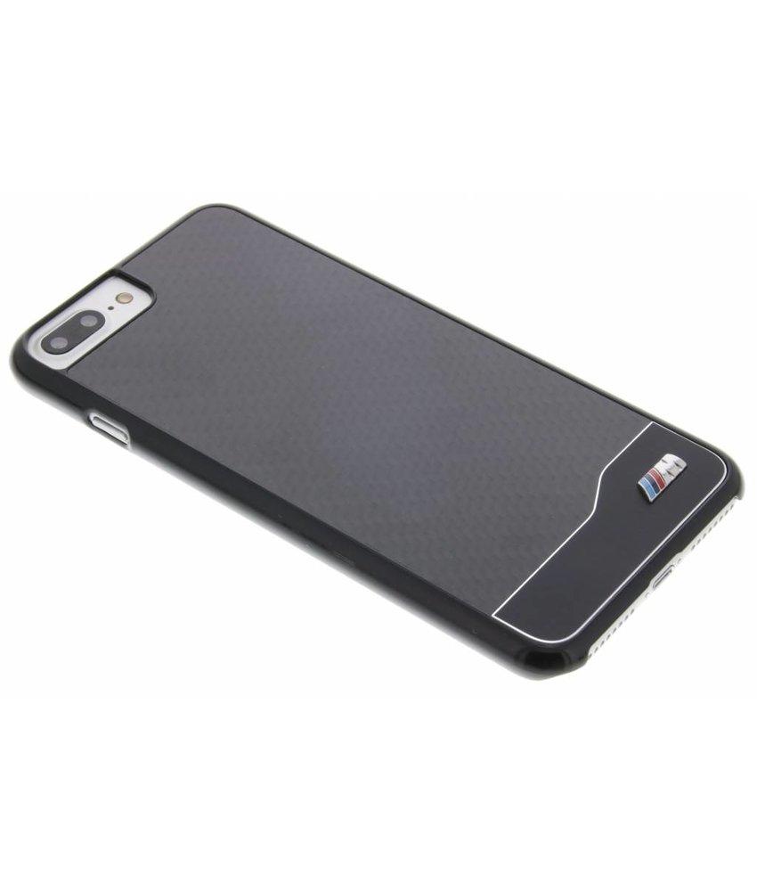 BMW M Carbon Effect Hard Case iPhone 7 Plus - Zwart