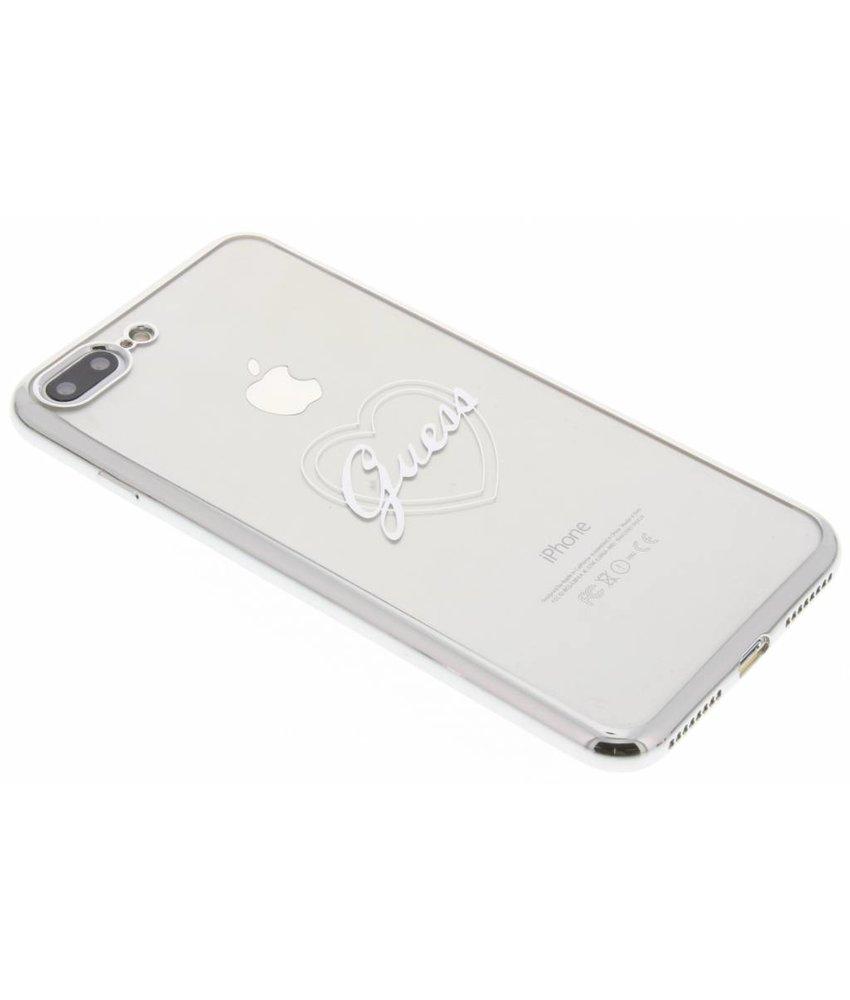 Guess Signature Heart TPU Case iPhone 8 Plus / 7 Plus