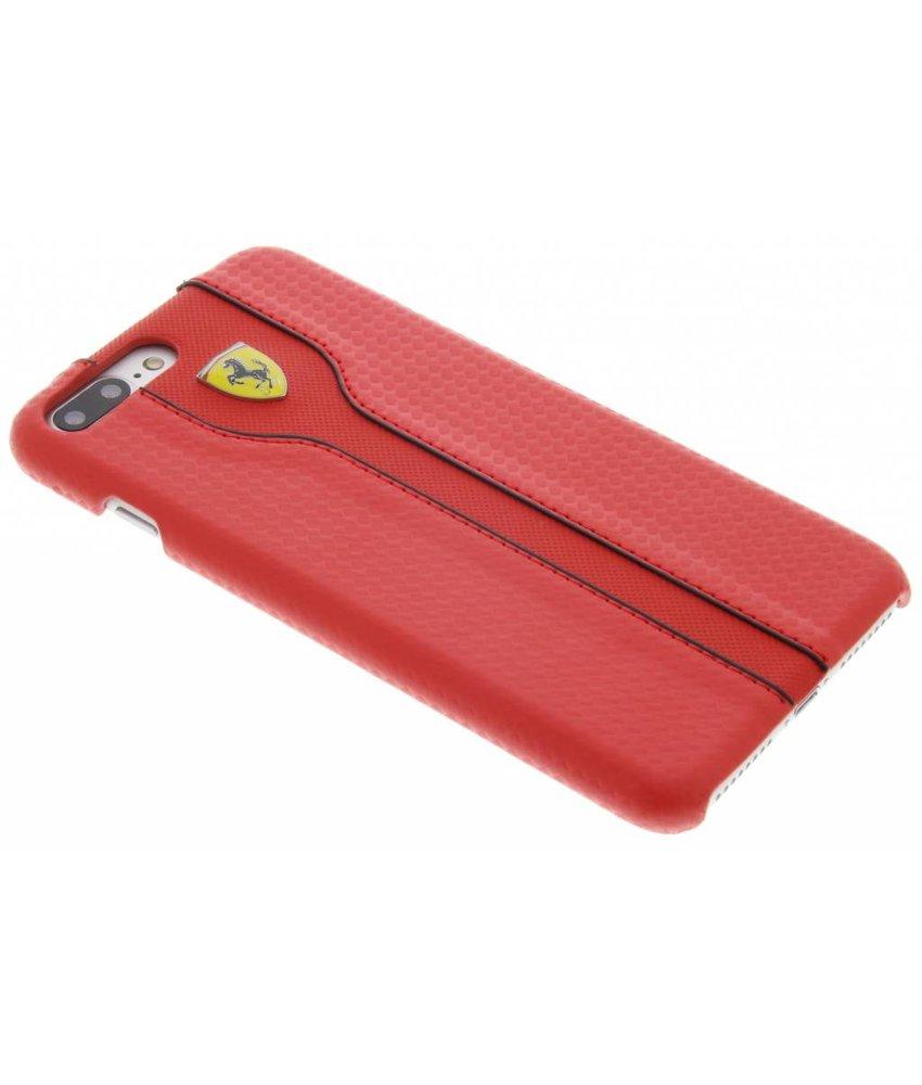 Ferrari Racing Carbon Leather Hard Case iPhone 7 Plus