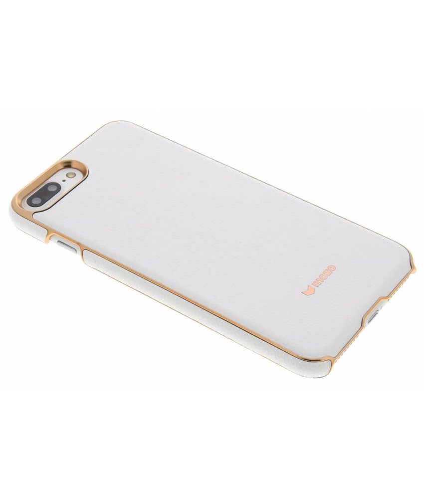 Mozo Leather Back Cover iPhone 8 Plus / 7 Plus