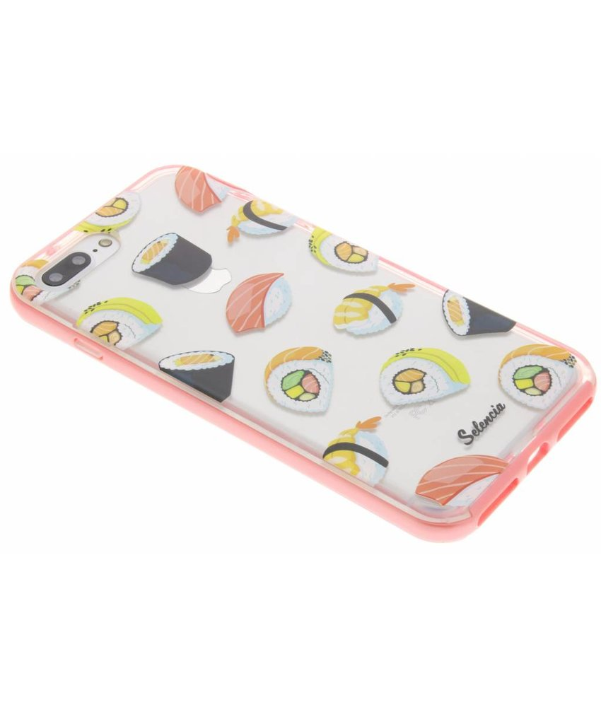 Selencia Foodies TPU hoesje iPhone 8 Plus / 7 Plus