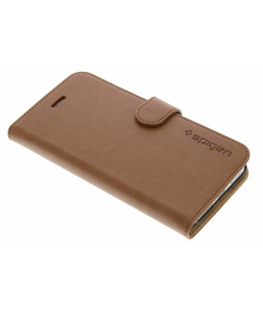 Spigen Wallet S Booktype iPhone 7 - Bruin
