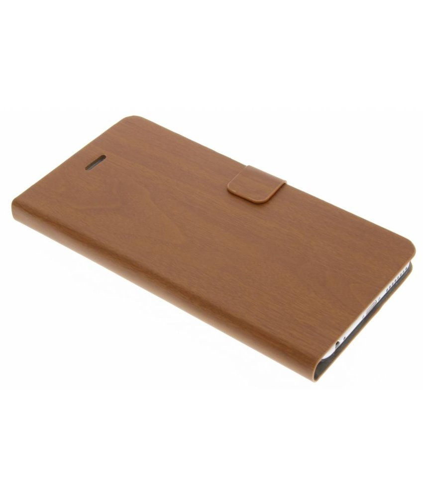 Hout design booktype iPhone 6(s) Plus