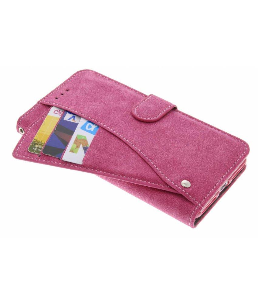 Roze Comfort Booklet iPhone 8 Plus / 7 Plus
